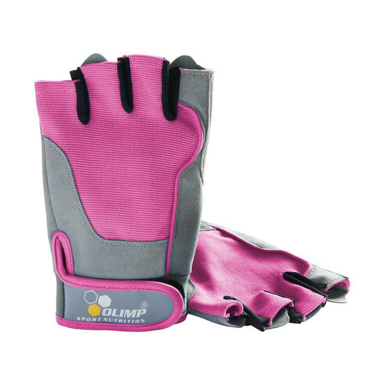 Перчатки в зал Olimp Hardcore Fitness ONE Pink олимп хардкор фитнес розовые S