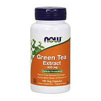 Жиросжигатель NOW  Green Tea Extract 100 капс экстракт зеленого чая нау