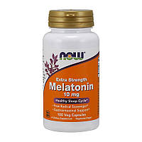 Витамины NOW Melatonin 10 mg Extra Strength (100 капс) нов мелатонин