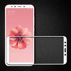 Защитное стекло Xiaomi Redmi S2 White закаленное Full Cover, фото 2