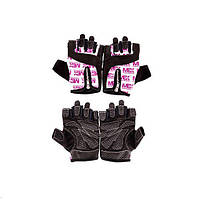 Перчатки в зал для фитнеса MEX Nutrition Smart Zip Gloves Purple (XS, S, M, L)