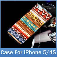 f8fb90a90692 Пластиковый чехол AZTEC для iPhone 5