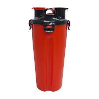 Шейкер Shaker Dual HydraCup Red (1000 мл) гидракап шейкер дуал гидракап