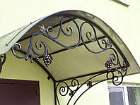 Козырек кованый, фото 1