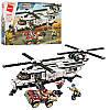 Конструктор Enlighten Brick 3208 АРМИЯ -  Вертолет (648 дет.)