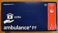 Перчатки Ambulance L 25пар/уп