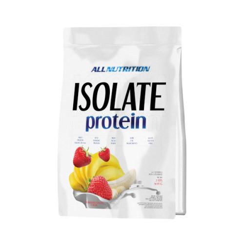 Сироватковий протеїн ізолят AllNutrition Isolate Protein (908 г) алл Нутришн caffe latte-chocolate