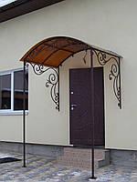 Козырек над входом, фото 1
