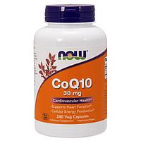 Коэнзим NOW CoQ10 30 mg (240 капс) нов цоку-10