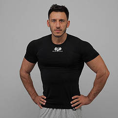 Компресс футболка SportFaza Black Размер XXXL