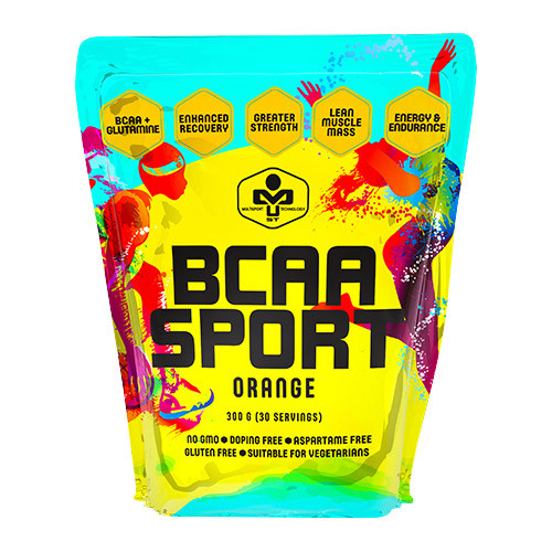 БЦАА MUST BCAA Sport (300 г) маст blue raspberry