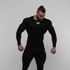Компрес лонгслив SportFaza Premium Black (S-XXXL)
