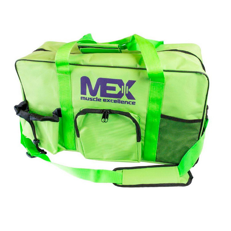 Спортивная сумка MEX Nutrition GymFit Bag зеленая