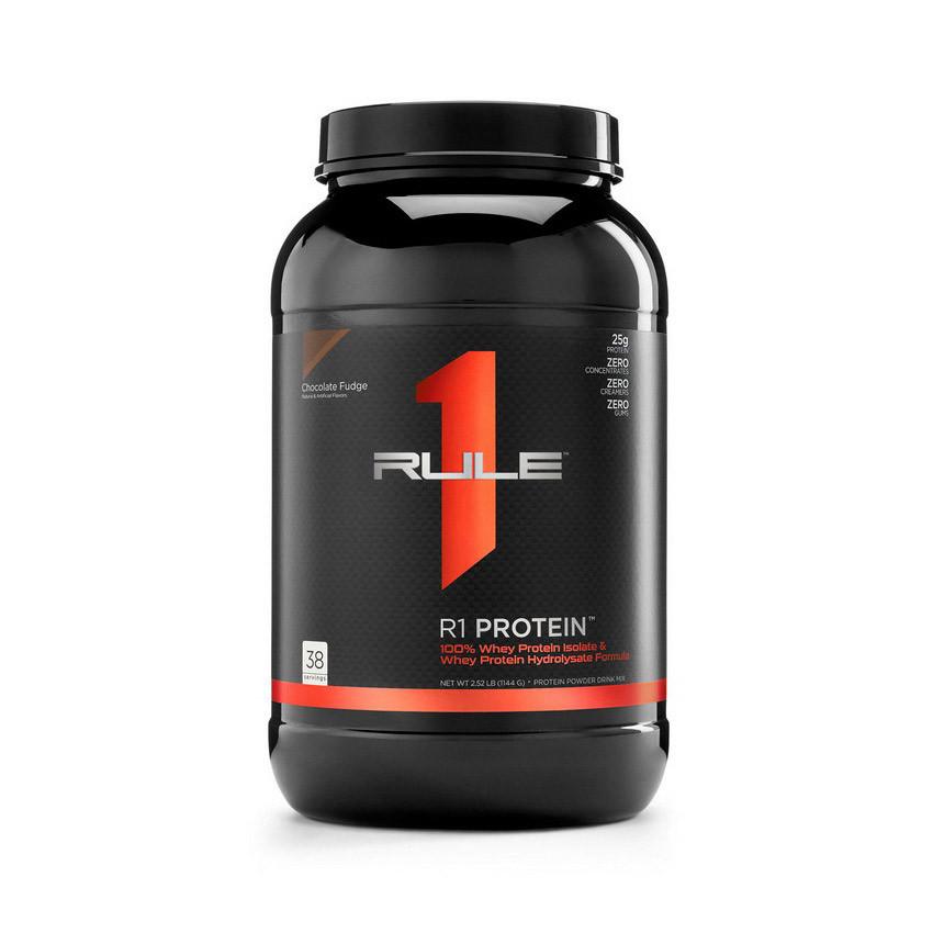 Сывороточный протеин изолят R1 (Rule One) Protein (1,17 кг) рул 1 chocolate fudge