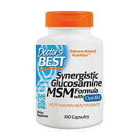 Для суставов Doctors BEST Synergistic Glucosamine MSM Formula (180 капс) доктор бест сайнерджистик мсм