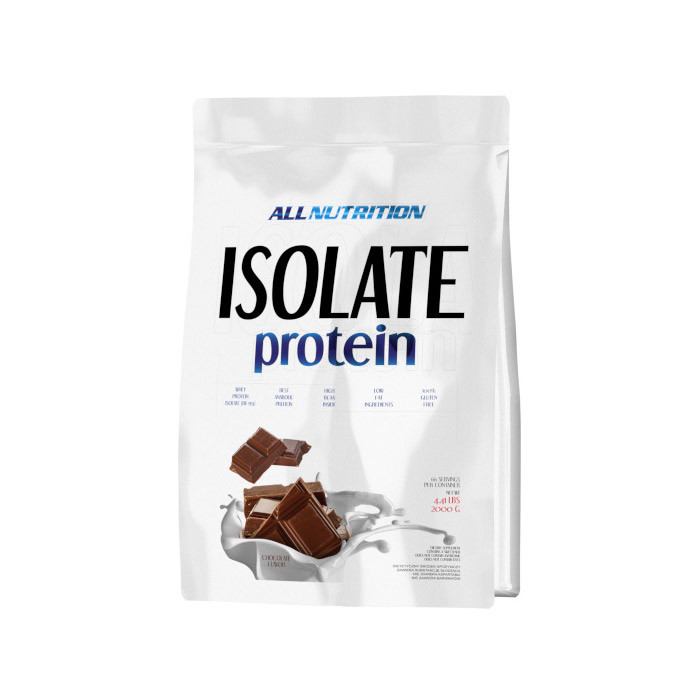 Сывороточный протеин изолят All Nutrition Isolate Protein (2 кг) алл нутришн  banana