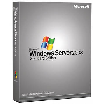 Microsoft Windows Server Standard 2003 R2 1-4CPU 5Clt Russian OEM (P73-02761)