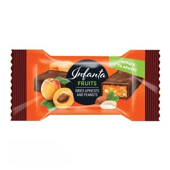 Фітнес батончик Vale Infanta Fruits (24 г) dried apricots and peanuts
