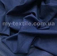 Джинс ткань тонкий Синий