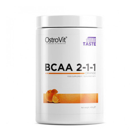 БЦАА OstroVit BCAA 2-1-1 (400 г) островит lemon
