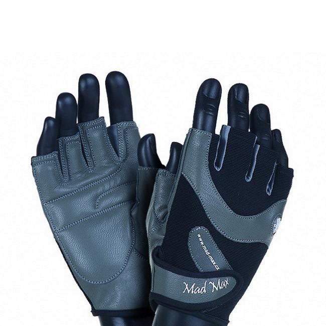 Перчатки в зал для фитнеса Mad Max MTi83 Gloves MFG-830 Black/Grey (M размер) мєд макс