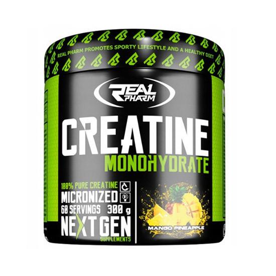 Креатин Real Pharm Creatine Monohydrate 300 г риал фарм моногидрат