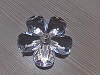 Бусина прозрачный цветок