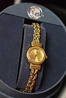 Серебряные часы 925 проба в позолоте TECHNIBOND