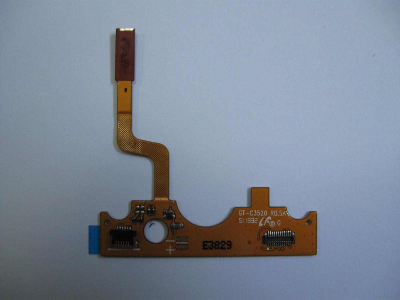 Шлейф Samsung GT-C3520  GH59-11409A