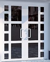 Пластиковые входные двери  Steko