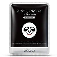 Маска питательная, для тонуса кожи, Панда, BIOAQUA ANIMAL PANDA TENDER MASK 25 МЛ, фото 1