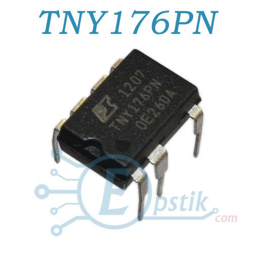 TNY176PN, імпульсний регулятор напруги, DIP7