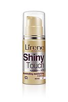 Тональный рассветляющий крем SHINE TOUCH Lirene Бежевый 30 мл