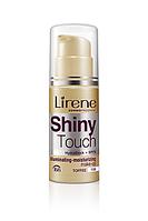 Тональный рассветляющий крем SHINE TOUCH Lirene Тоффи 30 мл