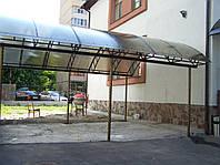 Навес над площадкой, фото 1