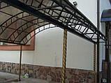 Навес над площадкой, фото 2