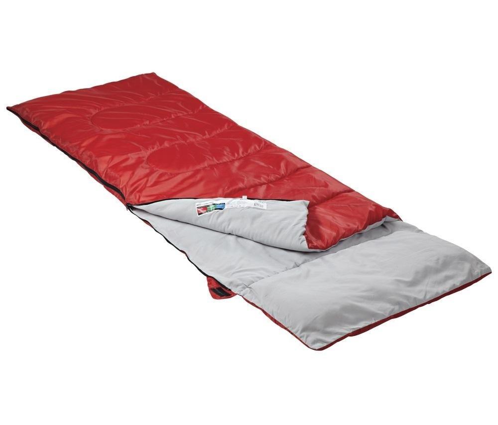 Одноместный спальный мешок Camping Rest (красный и синий)