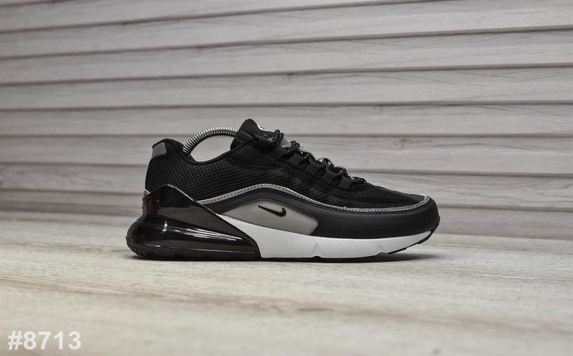 80722891 Кожаные Мужские Кроссовки Nike Air Max Hybrid 270/97, Черные — в ...