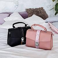 Элегантная сумочка черного цвета АРТ.01163, фото 1
