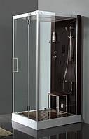 Гидромассажный бокс Devit FRESH 6301121BR 900x1100 Хром/Черный
