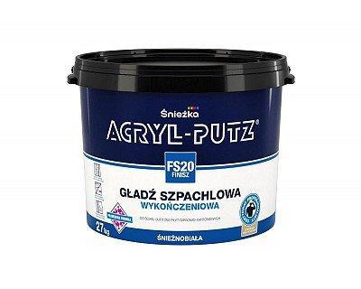 Шпаклювальна гладь Снєжка (Sniezka) ACRYL-PUTZ FS20 фініш, 27 кг