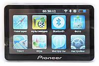 GPS навигатор Pioneer E 820 HD + AV-IN + Блютуз + FM-модулятор + Сьёмный аккумулятор!
