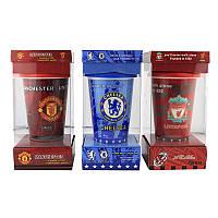 РАСПРОДАЖА!!! Кружка с силиконовой крышкой в подарочной упаковке Football Clubs Liverpool