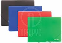 Папка на резинках А4 ECONOMIX 31601-04 зеленая