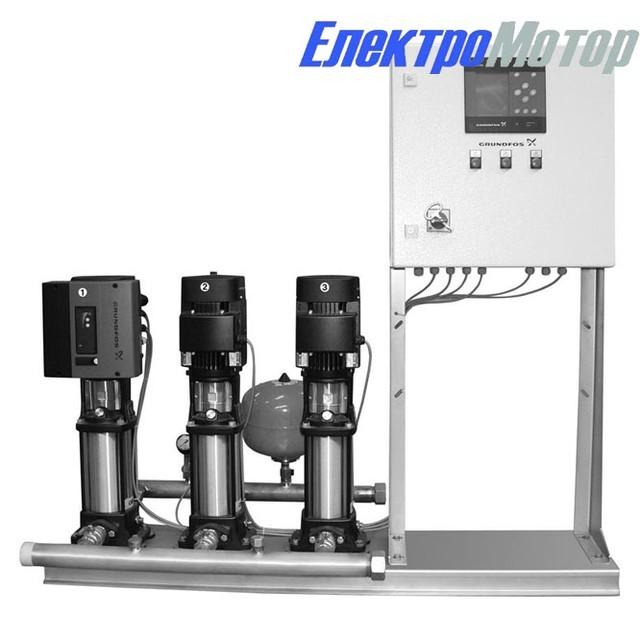 Станции повышения давления Grundfos Hydro МРС: CR (E) 10-3 — CR (E) 10-14 с 3 насосами
