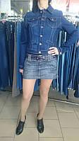 Пиджак джинсовый Mini Blue синий, фото 1