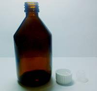 Бутылка медицинская стеклянная 100  мл , от 500 шт
