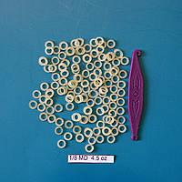 Эластичные латексные кольца ᴓ 3,18 мм для коррекции вросших ногтей. Средняя тяга, фото 1
