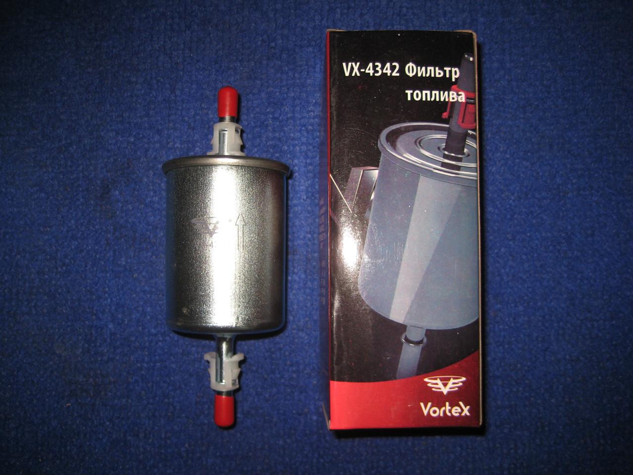 Фильтр топливный Vortex VX4342 ВАЗ OPEL Опель Daewoo Деу Део Chevrolet Шевроле Volkswagen Фольцваген FIAT Фиат