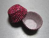 Форма для кексиков  розово-чёрная, фото 4